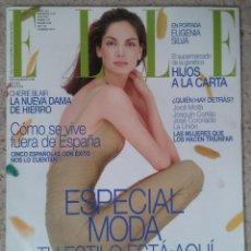 Coleccionismo de Revistas y Periódicos: REVISTA ELLE Nº 144 SEPTIEMBRE 1998 PORTADA: EUGENIA SILVA + SUPLEMENTO. Lote 59543815