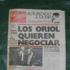 Coleccionismo de Revistas y Periódicos: CATALUNYA EXPRESS NUMERO 1 - 14 DICIEMBRE 1976 SEGUNDA EDICION. Lote 59566399