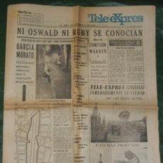 Coleccionismo de Revistas y Periódicos: TELE EXPRES NUMERO 2 - 15 SEPTIEMBRE 1964 . Lote 59566931