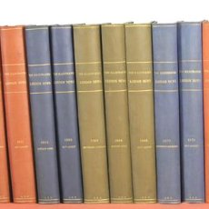 Coleccionismo de Revistas y Periódicos: 7883 - REVISTA THE ILLUSTRATED LONDON NEWS. 284 EJEM. EN 20 TOMOS(VER DESCRIP). 1965/1975.. Lote 59573319