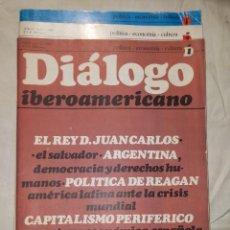 Coleccionismo de Revistas y Periódicos: DIALOGO IBEROAMERICANO Nº 1 2 3 EDILESA 1981. Lote 59649207