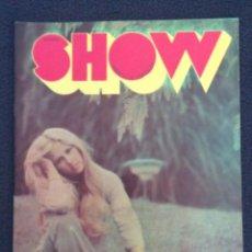 Coleccionismo de Revistas y Periódicos: REVISTA SEMANAL DE MÚSICA Y ESPECTÁCULO SHOW 1973. Lote 59651915