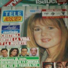 Coleccionismo de Revistas y Periódicos: TELE INDISCRETA Nº 303 FALCON CREST CRISTAL 1990 TELEINDISCRETA. Lote 59822924