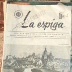 Coleccionismo de Revistas y Periódicos: LA ESPIGA, REVISTA SINDICAL CATÓLIGO AGRARIA, SALAMANCA, 1964. Lote 59848340