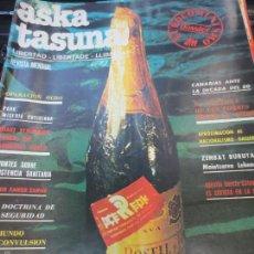 Coleccionismo de Revistas y Periódicos: ASKATASUNA Nº 11 JUNIO 1980. Lote 59903007