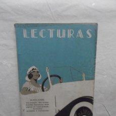 Coleccionismo de Revistas y Periódicos: REVISTA LECTURAS SEPTIEMBRE 1922. Lote 59905155