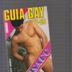 Coleccionismo de Revistas y Periódicos - GUIA GAY 87 - 88 VISADO REVISTA GAY EROTICA AÑOS 90 - 132196129