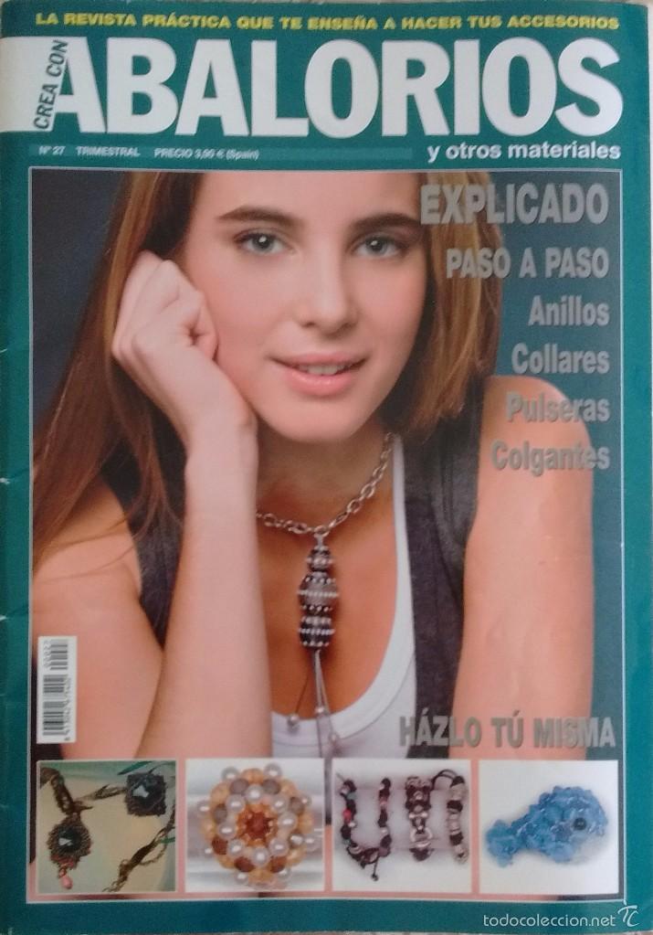 62d89727a102 REVISTA CREA CON ABALORIOS Nº27
