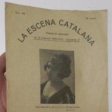 Coleccionismo de Revistas y Periódicos: LA ESCENA CATALANA. NÚMERO 393. Lote 59975275