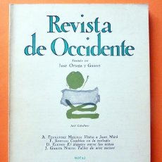 Coleccionismo de Revistas y Periódicos: REVISTA DE OCCIDENTE Nº 112 - JULIO 1972 - VV. AA. - VER INDICE. Lote 59979627