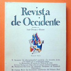 Coleccionismo de Revistas y Periódicos: REVISTA DE OCCIDENTE Nº 121 - ABRIL 1973 - VV. AA. - VER INDICE. Lote 59980699