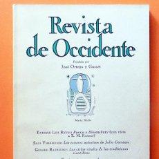 Coleccionismo de Revistas y Periódicos: REVISTA DE OCCIDENTE Nº 131 - FEBRERO 1974 - VV. AA. - VER INDICE. Lote 59982803