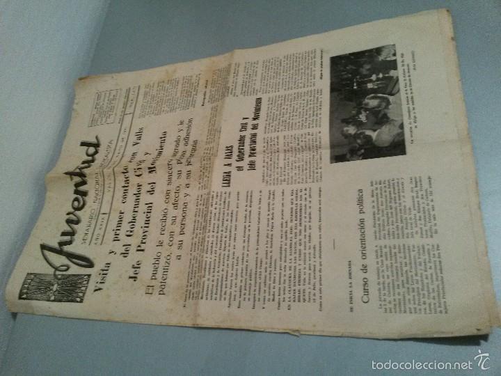Coleccionismo de Revistas y Periódicos: JUVENTUD SEMANARIO NACIONAL SINDICALISTA VALLS 1971 Nº 1473. - Foto 2 - 60004551