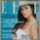 Coleccionismo de Revistas y Periódicos: REVISTA ELLE Nº 159 DICIEMBRE 1999 PORTADA: PENÉLOPE CRUZ. Lote 59545979