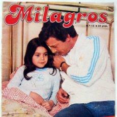 Coleccionismo de Revistas y Periódicos: FOTONOVELA MILAGROS Nº 12. Lote 60079659