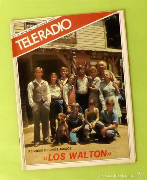 TELERADIO NÚM. 1193 (NOV 1980) - JOSÉ MARIA PURÓN (CANTANTE), ANECDOTARIO MARILYN MONROE, ETC. (Coleccionismo - Revistas y Periódicos Modernos (a partir de 1.940) - Otros)