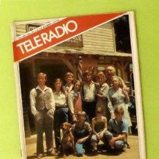 Coleccionismo de Revistas y Periódicos: TELERADIO NÚM. 1193 (NOV 1980) - JOSÉ MARIA PURÓN (CANTANTE), ANECDOTARIO MARILYN MONROE, ETC.. Lote 60079667