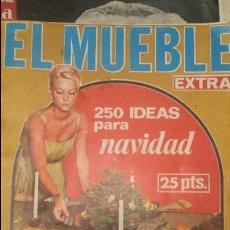 Coleccionismo de Revistas y Periódicos: EL MUEBLE, Nº 48 DE 1965 - EXTRA NAVIDAD - HOGAR, DECORACION, COCINA, BELLEZA. Lote 60144791