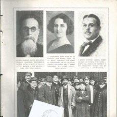 Coleccionismo de Revistas y Periódicos: PAG DESENC BLANCO Y NEGRO FEB 1923.Nº1658.2 PG.GUERRA MARRUECOS. SR MONTERO ALCALDE CUENCA.PICASSO. Lote 60152875