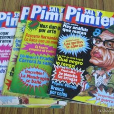 Coleccionismo de Revistas y Periódicos: 6 REVISTAS SAL Y PIMIENTA 102 - 103 - 104 - 106 - 107 - 108 -- 1981. Lote 60295787