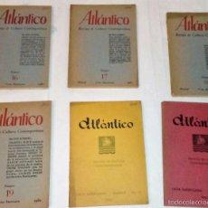 Coleccionismo de Revistas y Periódicos: LOTE DE 14 REVISTAS ATLANTICO,CULTURA CONTEMPORÁNEA.1957-1963. Lote 60343899