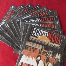 Coleccionismo de Revistas y Periódicos: EGIPTOMANÍA PLANETA DEAGOSTINI. LOTE FASCÍCULOS 0-10. Lote 60356999