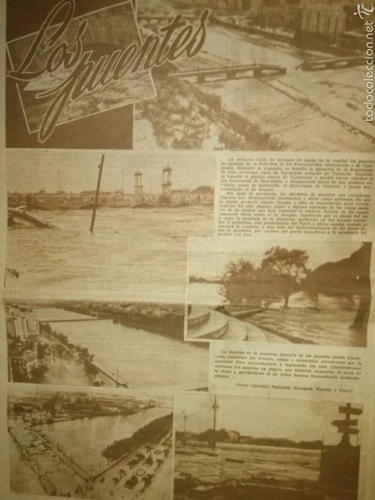 Coleccionismo de Revistas y Periódicos: LAS PROVINCIAS-Historico numero 14 de Octubre de 1957,riada de Valencia. - Foto 3 - 60436958