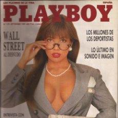 Coleccionismo de Revistas y Periódicos: PLAYBOY ESPAÑA, AÑO 1989 Nº 129. Lote 60440975