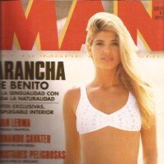 Coleccionismo de Revistas y Periódicos: MAN REVISTA, AÑO 1992, Nº 58, ARANCHA DE BENITO.. Lote 60465563