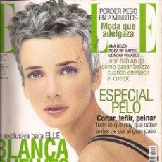 Coleccionismo de Revistas y Periódicos: ELLE ESPAÑA, AÑO 1998, Nº 139. Lote 60492199