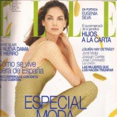 Coleccionismo de Revistas y Periódicos: ELLE ESPAÑA, EUGENIA SILVA, AÑO 1998, Nº 144. Lote 60492335
