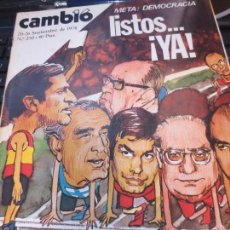 Coleccionismo de Revistas y Periódicos: REVISTA CAMBIO 16 Nº 250 20-26 SEPTIEMBRE 1976. Lote 60512311