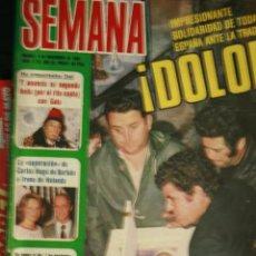Coleccionismo de Revistas y Periódicos: ORTUELLA DYANGO SARA MONTIEL BLANCA ESTRADA ANA OBREGON ROCIO DURCAL SALVADOR DALI STAR WARS. Lote 60637363