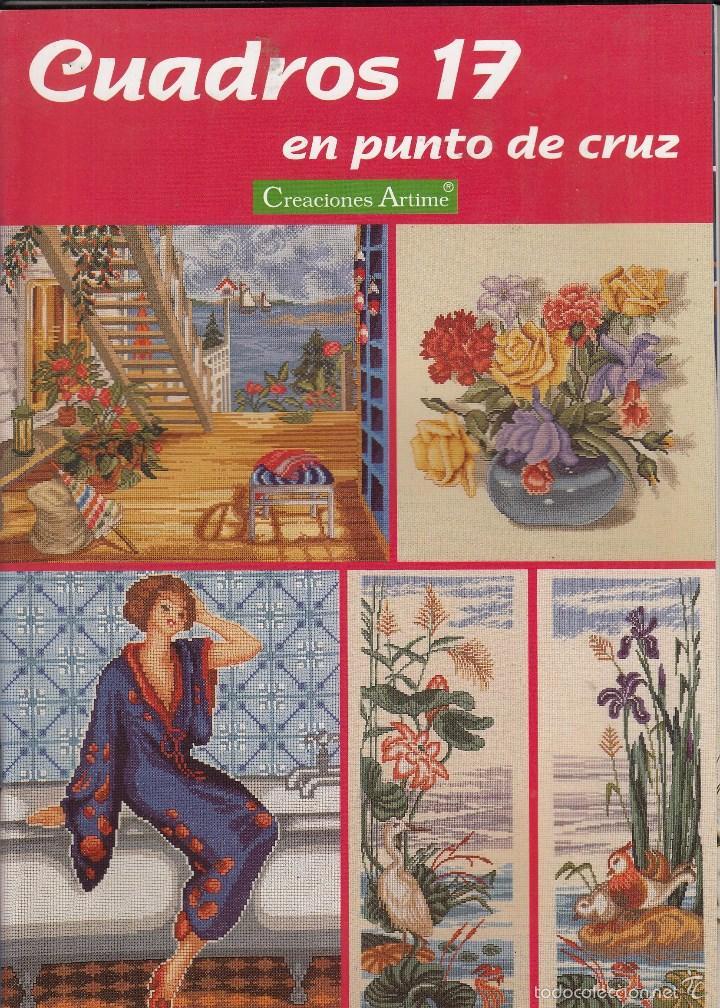 Revista cuadros en punto de cruz n 17 creacio comprar for Cuadros cocina punto de cruz