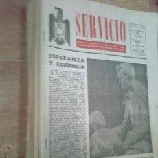 Coleccionismo de Revistas y Periódicos: LOTE 7 PERIODICOS FALANGE ANTIGUOS FRANQUISTAS SERVICIO SEMANARIO NACIONAL DEL SEM MADRID 1964. Lote 48450708