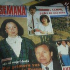 Coleccionismo de Revistas y Periódicos: MARIA CASAL PALOMA SAN BASILIO ROCIO DURCAL ISABELLA ROSSELLINI 1985. Lote 60849863