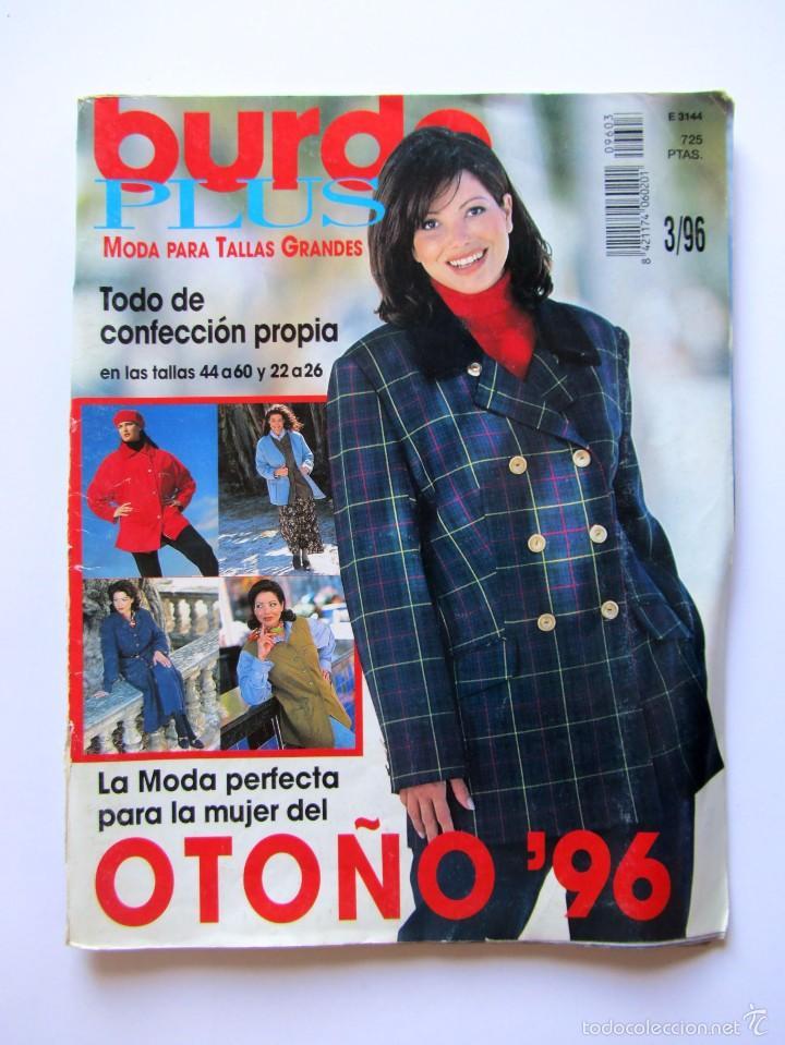 Revista Burda Especial Plus Moda Para Tallas G Vendido En Venta Directa 60925799