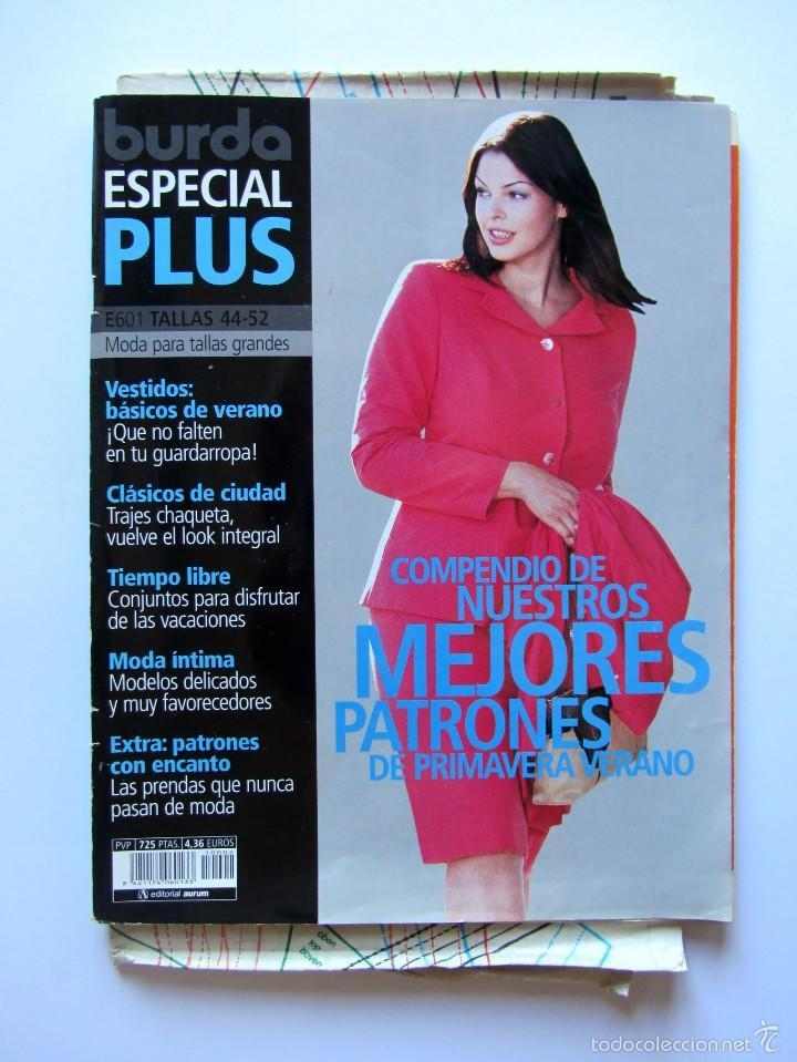 Revista Burda Especial Plus Moda Para Tallas G Vendido En Venta Directa 60926599