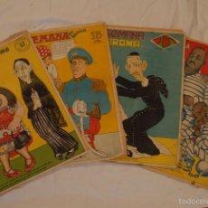 Coleccionismo de Revistas y Periódicos: 4 EJEMPLARES DE LA REVISTA LA SEMANA EN BROMA. NÚMEROS 2, 3, 4 Y 6 DE 1932. EL SALVADOR. R ZAMORA. Lote 60939023