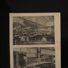 Coleccionismo de Revistas y Periódicos: HOJA REVISTA ORIGINAL AÑOS 20. SALON AUTOMOVIL PARIS (CHARRON, PEUGEOT) CUÑO CASA CODINA MALLORCA. Lote 60954095