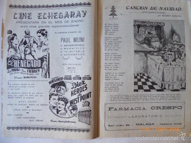 Coleccionismo de Revistas y Periódicos: malaga revista, la farola.grafica local. - Foto 3 - 61009215