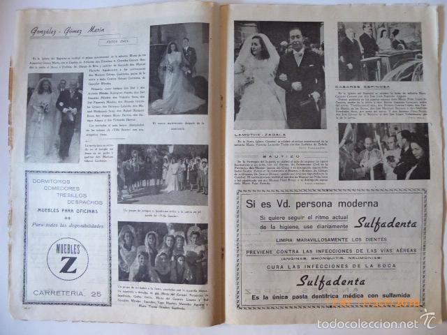 Coleccionismo de Revistas y Periódicos: malaga revista, la farola.grafica local. - Foto 5 - 61009215