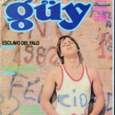 Coleccionismo de Revistas y Periódicos - GÜY - REVISTA DE TEMATICA GAY PARA ADULTOS - Nº 13 EDITORIAL NAPINT S. A. AÑO 1981 - 61086291