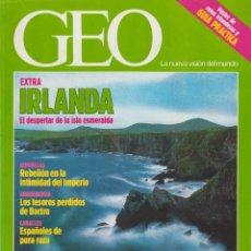 Coleccionismo de Revistas y Periódicos: REVISTA GEO + IRLANDA + NÚM. 56 + 1991. Lote 61191039
