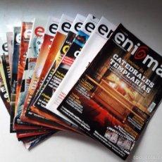Coleccionismo de Revistas y Periódicos: REVISTA ENIGMA. Lote 61191279