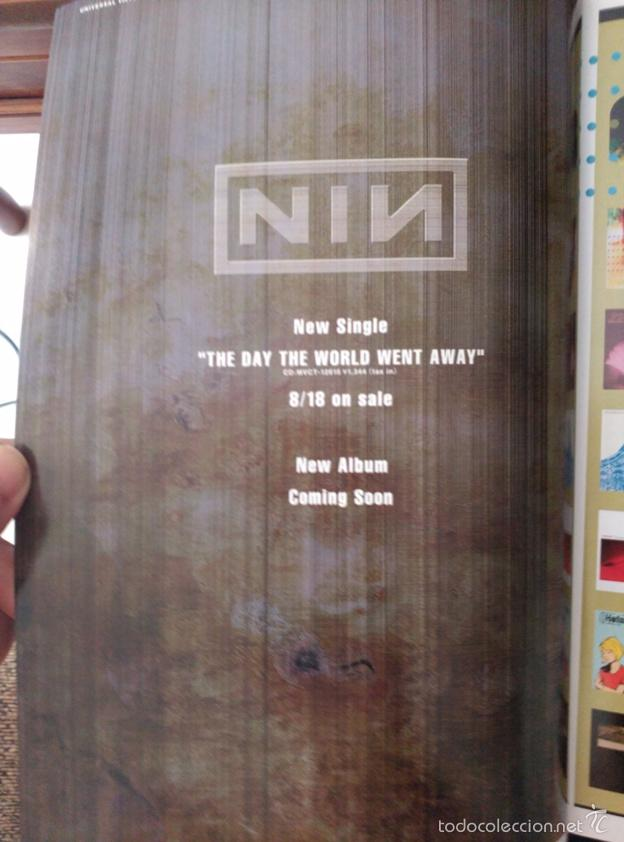 recorte japones nine inch nails- the day the wo - Comprar Otras ...