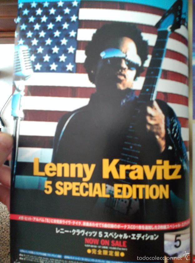 RECORTE JAPON LENNY KRAVITZ (Coleccionismo - Revistas y Periódicos Modernos (a partir de 1.940) - Otros)