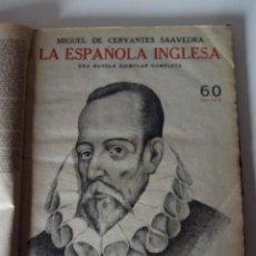 Coleccionismo de Revistas y Periódicos: 8 REVISTAS DE NÚMEROS SUELTOS ENCUADERNADOS REVISTA LITERARIA NOVELAS Y CUENTOS. Lote 61247735