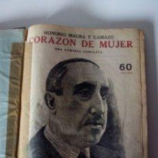Coleccionismo de Revistas y Periódicos: 13 REVISTAS ENCUADERNADAS REVISTA LITERARIA NOVELAS Y CUENTOS. Lote 61248843