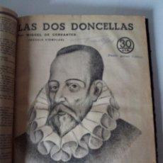 Coleccionismo de Revistas y Periódicos: 14 REVISTAS ENCUADERNADAS REVISTA LITERARIA NOVELAS Y CUENTOS. Lote 61249727